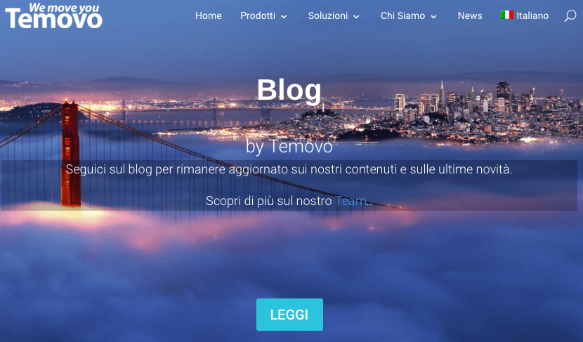 Blog by Temovo